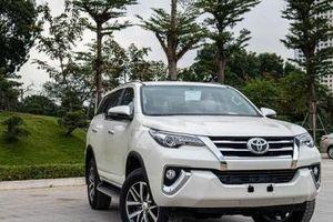 Mục sở thị mẫu SUV 7 chỗ Toyota Fortuner 2020 lắp ráp Việt Nam giá hơn 1 tỷ đồng