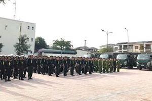 Công an TP Hà Tĩnh huy động 1.500 quân chống 'pháo tặc'