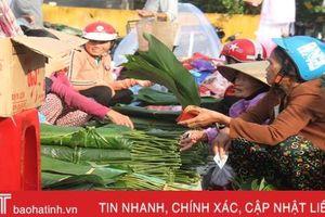Náo nức phiên chợ tết những ngày cuối năm ở Hà Tĩnh