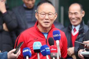 HLV Park: 'Chúc bóng đá Việt Nam hoàn thành giấc mơ trong năm mới'