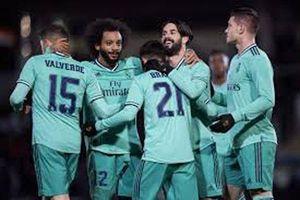 Kết quả Unionistas 1-3 Real: Los Blancos vào vòng 1/8 Cúp Nhà vua