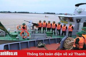 Kiểm tra công tác trực sẵn sàng chiến đấu tại các đơn vị biên phòng