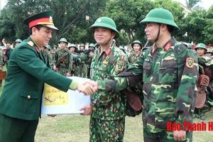 Bộ CHQS tỉnh kiểm tra công tác trực sẵn sàng chiến đấu tại Trung đoàn 762