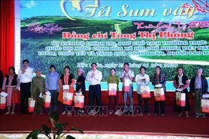 Đồng chí Phạm Minh Chính, Ủy viên Bộ Chính trị, Bí thư Trung ương Đảng, Trưởng Ban Tổ chức Trung ương thăm, làm việc tại Sơn La