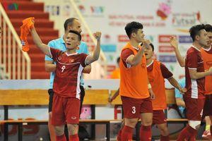 ĐT Futsal Việt Nam miệt mài tập luyện đến sát Tết Canh Tý