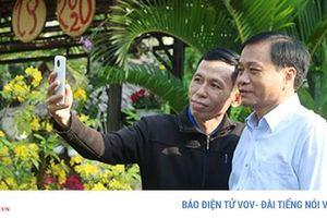 Đồng Tháp mở cửa trụ sở UBND tỉnh đón khách du xuân