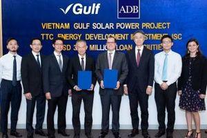 Dự án điện mặt trời 50 MW của TTC được vay gần 38 triệu USD từ ADB