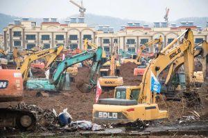 Vũ Hán xây bệnh viện 1.000 giường trong 6 ngày đối phó virus corona