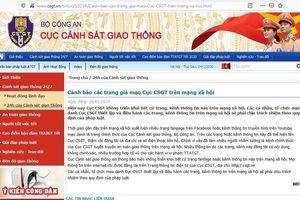 Cảnh báo tình trạng mạo danh Cục CSGT trên mạng xã hội