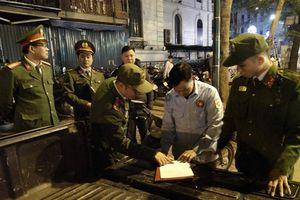 Hơn 1.000 cán bộ chiến sĩ bảo đảm an toàn đêm giao thừa khu vực hồ Hoàn Kiếm, Hà Nội