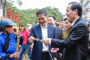 Bộ trưởng Trần Tuấn Anh chúc Tết người dân và người lao động nhân dịp Xuân Canh Tý 2020