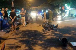 Nghệ An: Xe máy đấu đầu, hai người nguy kịch
