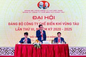 Đại hội Đảng bộ Công ty Chế biến Khí Vũng Tàu lần III, nhiệm kỳ 2020 - 2025