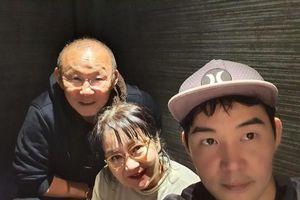 HLV Park Hang-seo cùng vợ con đón năm mới ở Nhật Bản