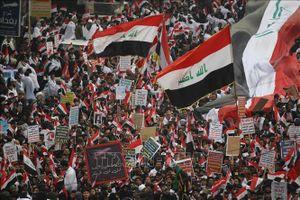 Tuần hành lớn tại Iraq yêu cầu Mỹ rút quân khỏi nước này