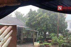 Hà Nội và một số địa phương bất ngờ xuất hiện mưa đá ngày 30 Tết