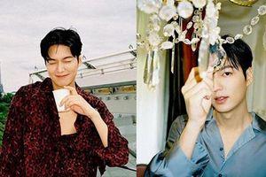 'Tết đến Xuân về', mỹ nam Lee Min Ho chiêu đãi người hâm mộ bằng loạt ảnh mới không thể quyến rũ hơn