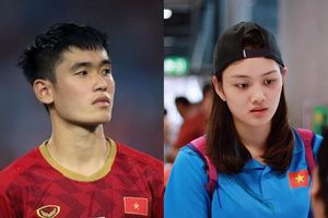 Hậu vệ Tấn Sinh đang hẹn hò với hot girl bóng chuyền Thu Hoài?