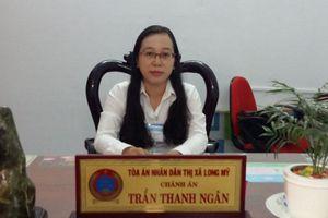Nữ Chánh án với phong trào thi đua 'Chung sức xây dựng nông thôn mới'