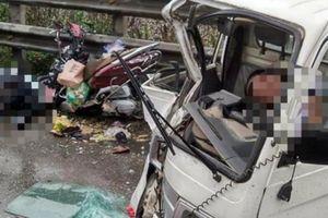 CSGT thông tin vụ 'đối đầu xe công an, 3 người nguy kịch' chiều 30 Tết