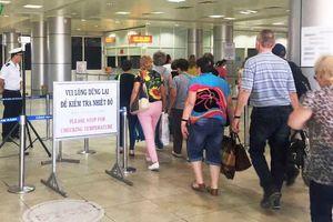 Ngừng tuyến bay Vũ Hán-Cam Ranh, kiểm tra thân nhiệt du khách