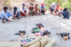 Nhóm thanh niên đá gà bị bắt ngày 30 Tết