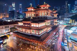 Ngôi chùa 46 triệu USD ở Singapore