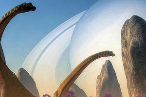 Trong thời đại khủng long, Mặt trăng lớn tới cỡ nào?