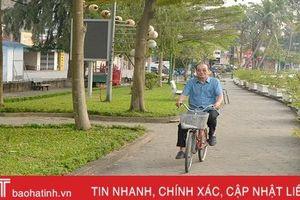 Thành phố Hà Tĩnh bình yên ngày đầu năm mới