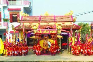 Độc đáo lễ hội Cầu Ngư và tục thờ cá voi ở làng biển Cảnh Dương