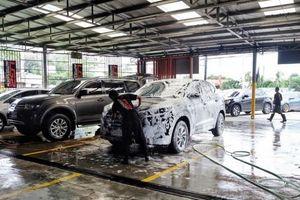 Công nghệ rửa xe diệt khuẩn thời 4.0