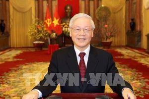 Tổng bí thư, Chủ tịch nước chúc tết đồng bào, đồng chí và chiến sỹ cả nước