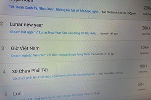 Hàng chục nghìn người tìm kiếm 'nhạc Xuân' trên Internet ngày đầu năm mới