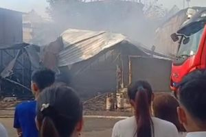 Bình Dương: Nhà bị cháy rụi mùng 2 tết