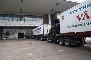 Xuất khẩu hơn 1.300 tấn nông sản ngày đầu năm mới