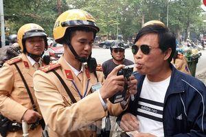 394 'ma men' lái xe bị cảnh sát xử phạt ngày mồng 1 Tết