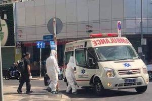 Sự thật sau bức ảnh xe cấp cứu chuyển người Trung Quốc nghi nhiễm corona ở TP.HCM