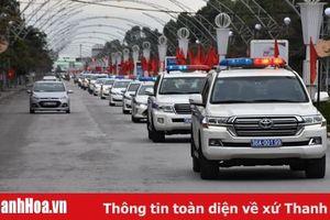 Từ mùng 2 Tết Nguyên đán, Công an Thanh Hóa ra quân tuyên truyền, xử lý vi phạm trật tự ATGT