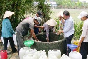Không để đời sống, sức khỏe của người dân bị ảnh hưởng do thiếu nước sinh hoạt