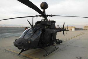 Trực thăng quân sự Kiowa của Croatia bị rơi khi bay huấn luyện