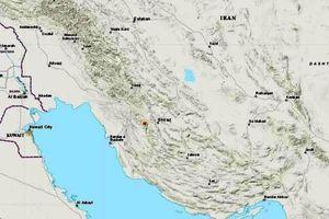 Động đất 5,4 độ richter ở Iran