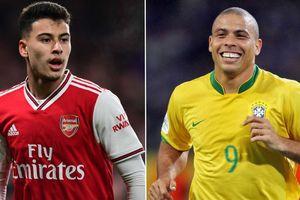 Sao trẻ Arsenal được so sánh với Ronaldo béo