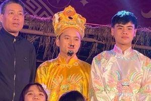 Phan Mạnh Quỳnh đóng Ngọc Hoàng ở quê