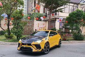 Siêu SUV Lamborghini Urus hơn 20 tỷ độ Mansory ở Sài Gòn