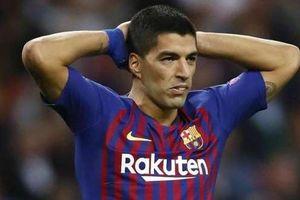 Barca mua hụt tiền đạo để thay Luis Suarez