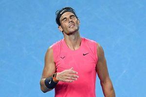 Nadal bị loại ở tứ kết Australian Open sau 3 loạt tie-break