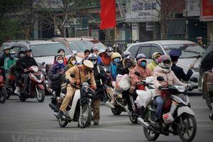 Cửa ngõ Thủ đô tắc nghẽn khi người dân đổ về Hà Nội sau Tết