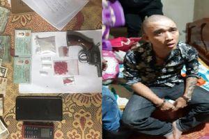 Tàng trữ ma túy cùng súng, một đối tượng bị bắt giữ trong ngày Tết nguyên đán