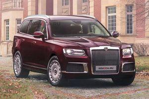 Hãng xe sang Aurus tiếp tục nhá hàng phiên bản SUV dành cho tổng thống Nga