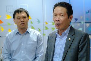 Chủ tịch Hội Xuất bản chúc Tết báo Tri thức trực tuyến